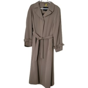 UTEX Long trenchcoat, belted, linned